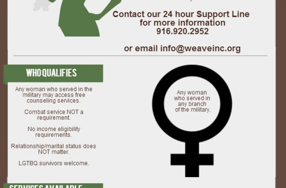Image of Free Counseling for Women Veterans