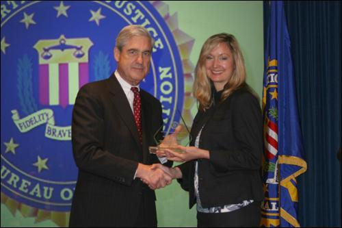 Image of WEAVE Receives FBI Director's Community Leadership Award
