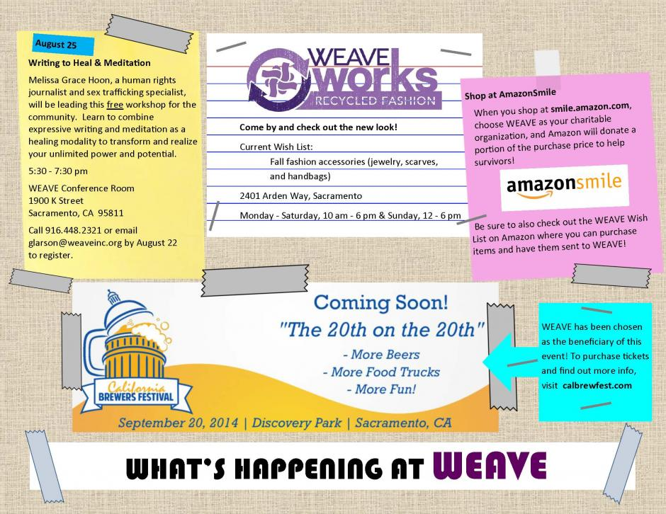 Image of What's Happening at WEAVE